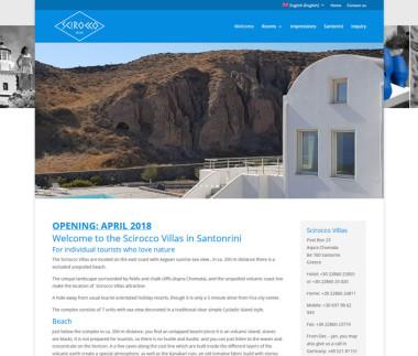 Scirocco Villas on Santorini / Greece