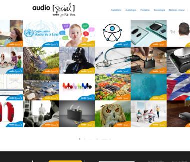 Audio Social Blog