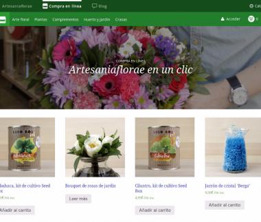 Artesaniaflorae, florist E-commerce