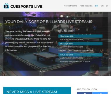 Cuesports Live