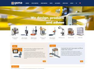 Producer of stretch wrapping machines – GEMA