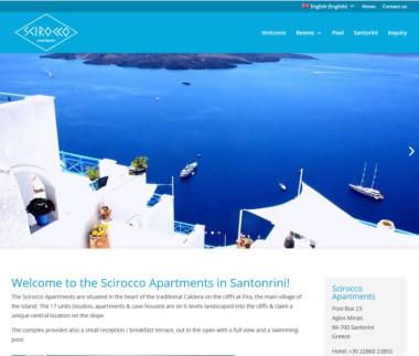 Scirocco Apartments on Santorini
