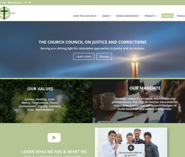 The Church Council on Justice and Corrections