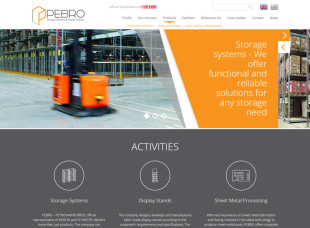 PEBRO Storage Systems and Display Stands