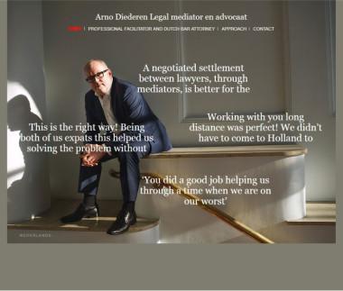 Arno Diederen, mediator & advocaat