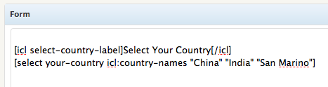 フォームの多言語化