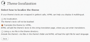 Theme localization options in WPML 1.2.0