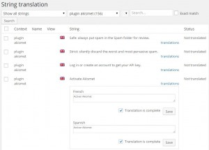 Traducción de textos por medio de la Traducción de cadenas de WPML