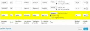 Adding a new language