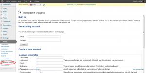 Setting up Translation Analytics 2