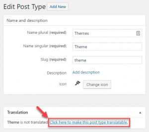 Types links to WPML to setup slug localization