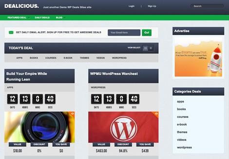 dealicious wordpress deals themes