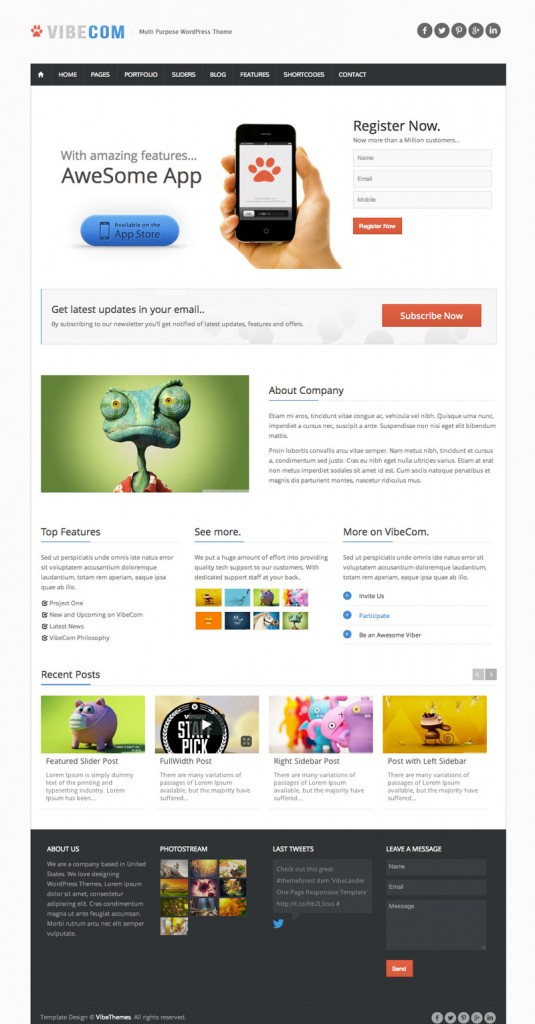 Multilingual ready responsive WordPress themes - WPML