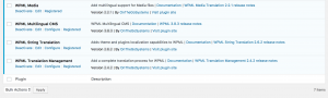 Required WPML components