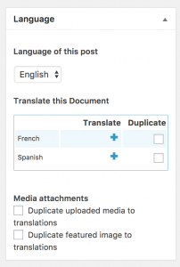 Adding translations