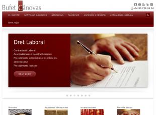 bufetcanovas.com