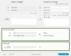 Translating Variations