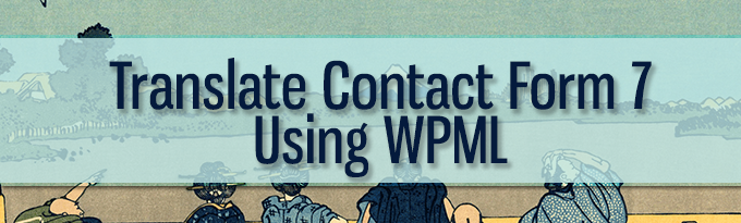 Contact form 7 and WPML