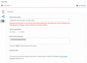 Sync settings for on-textual settings