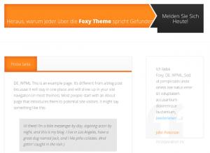 Translated Foxy home page, bottom