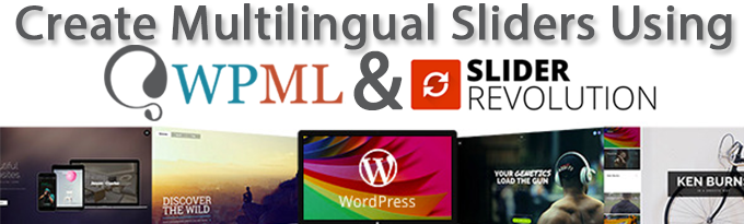 Creating multilingual sliders with Slider Revolution and