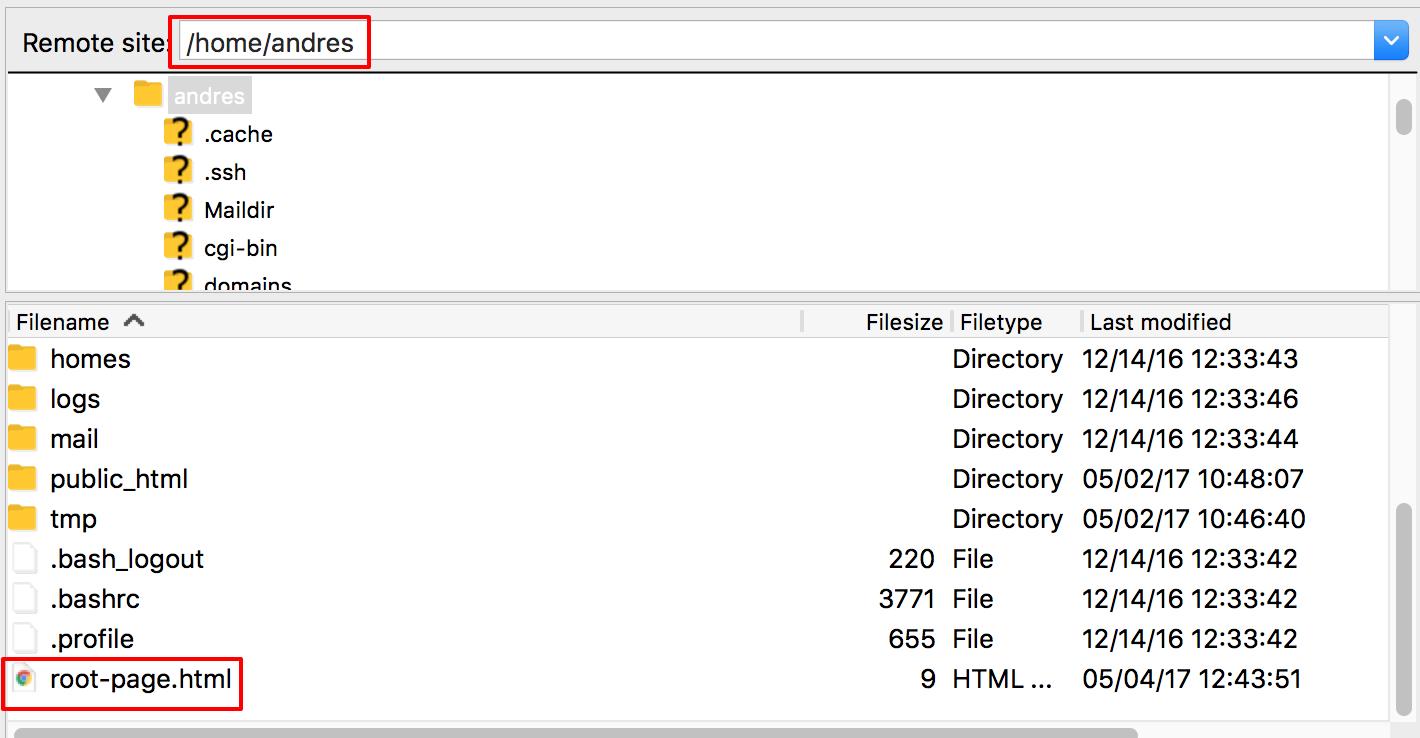 Téléchargez un fichier HTML dans votre répertoire