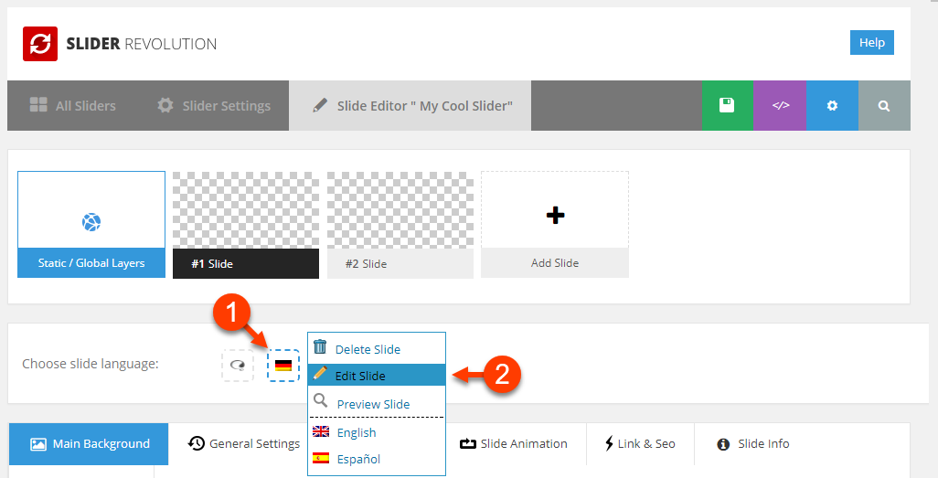 creating multilingual sliders with slider revolution and wpml wpml