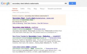 oneferro in Google's results