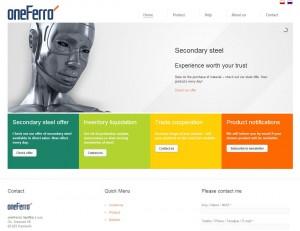 oneFerro.com home page