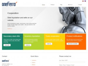 oneferro multilingual site