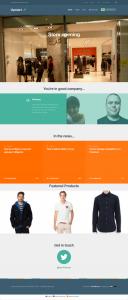 Upstart homepage in English