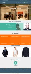 Upstart homepage in Spanish