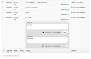 wpml widget translations