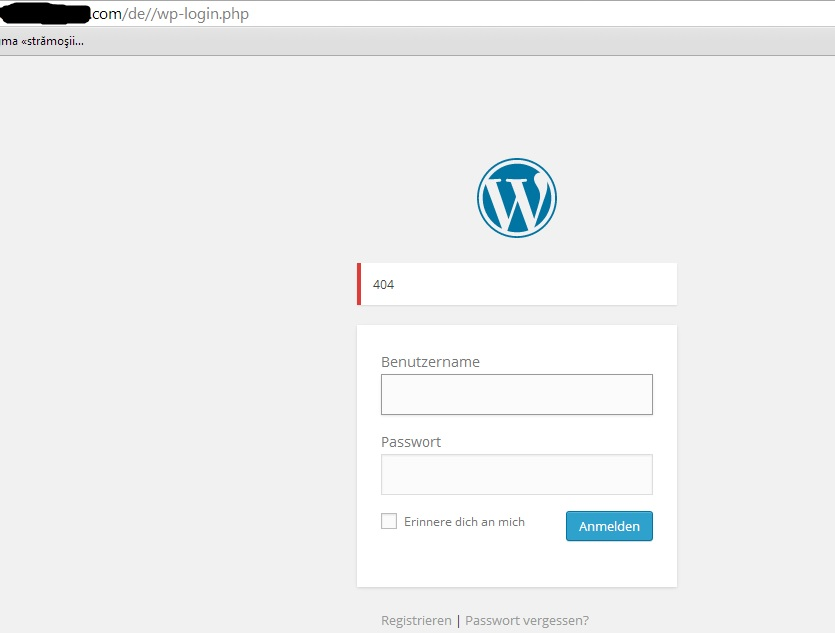 wp login php incorrect redirect wpml Create PHP Password Script de_login jpg