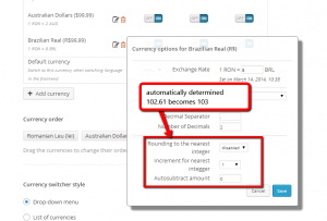 Rounding rules in WooCommerce multilingual 3.3