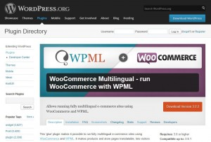 Woo Commerce Multilingual is a free plugin created by WPML developers
