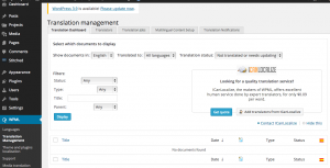 Translation Management