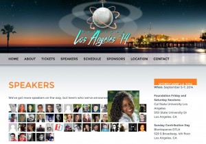 Denise will speak at WordCamp Los Angeles