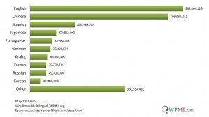 Top 10 Internet Users by Language WPML