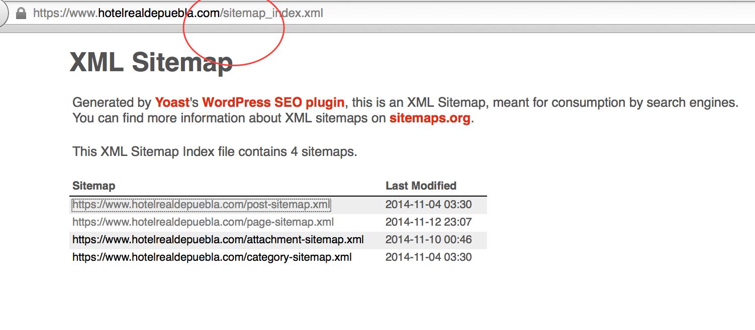 sitemaps not consistent with language directories wpml