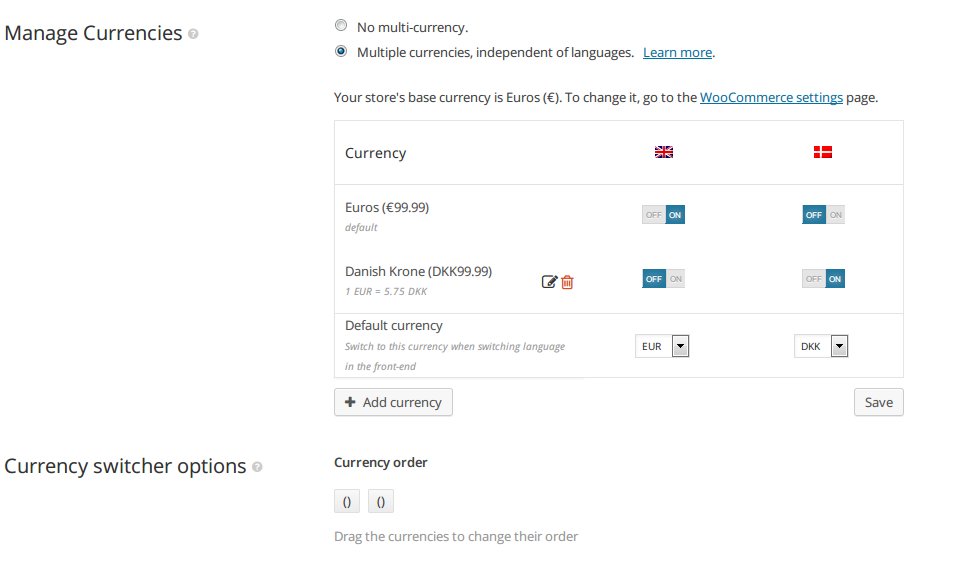 Currency Symbol Doesnt Change On Another Language Wpml