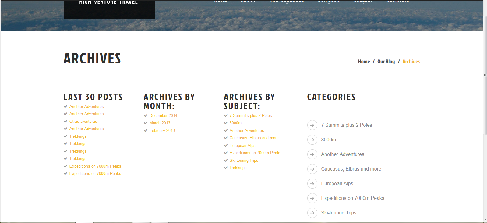 20+ Blog>Archives pages in multiple languages   WPML Stock