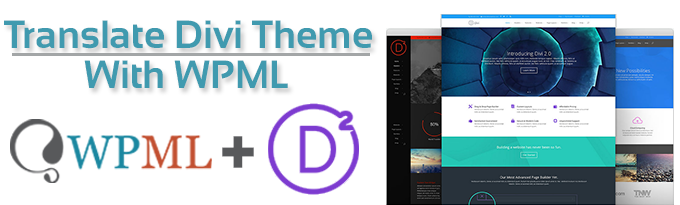 Translate divi theme with wpml