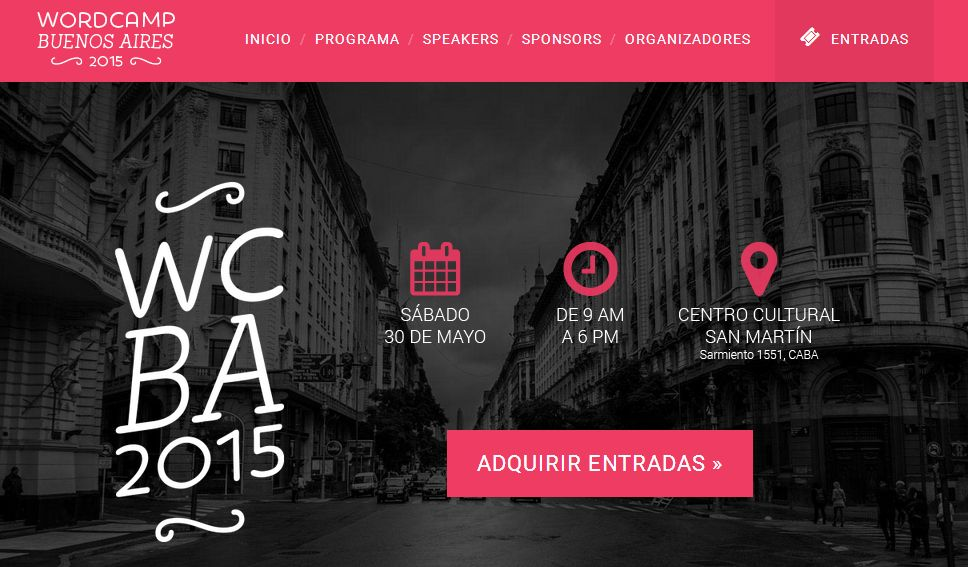 WordCamp BA official site