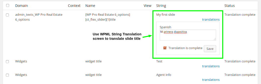 Translating Customizer and Theme Options - WPML