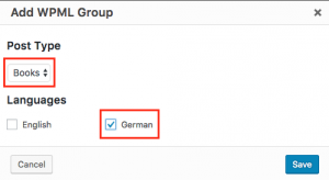 Creating a new group of permissions