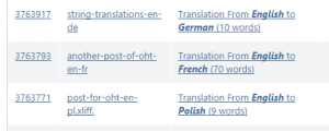OneHourTranslation gruppiert Übersetzungs-Batch-Dokumente nach Sprache