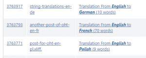 OneHourTranslation groups Translation Batch documents by language