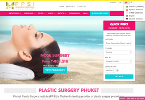 www.plastic-surgery-phuket.com/ available in English, Swedish, Russian,Japanese, German