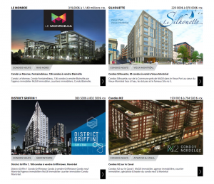 Showcase of condos at mcgillimmobilier.com